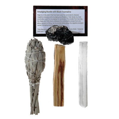 RSK2 - Smudging Bundle with Black Tourmaline