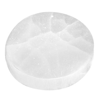 SCP2 - Round Selenite Crystal Charging Plate