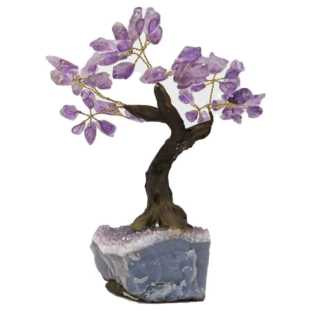 BT100 - Small Bonsai Tree: Amethyst