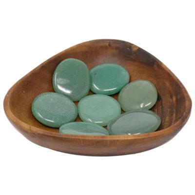 CPSGA - Palm Stone: Green Aventurine