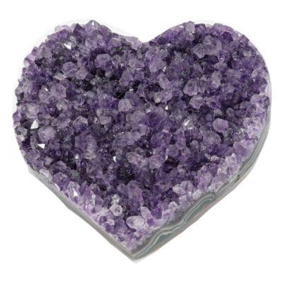 HAC - Amethyst Cluster Heart