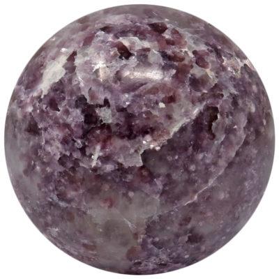 LEPS25 - Lepidolite Sphere