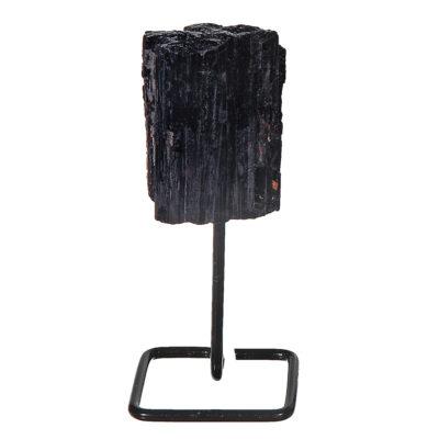 MMS101 - Mini Black Tourmaline on Metal Stand