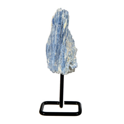 MMS202 - Small Blue Kyanite on Metal Stand
