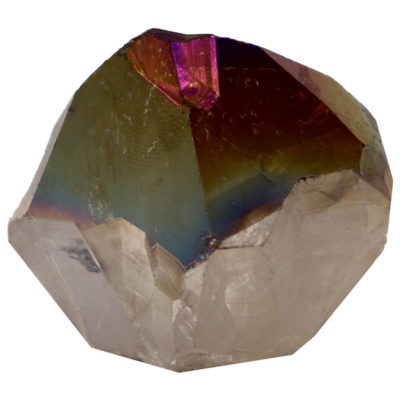MPAR1 - Rainbow Aura Amethyst Point Base Cut