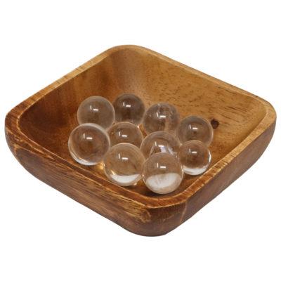 MS03 - Clear Quartz Mini Spheres (Pack of 10)