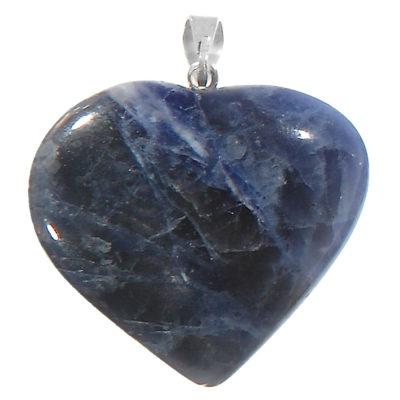 NHSD - Sodalite Heart Pendant