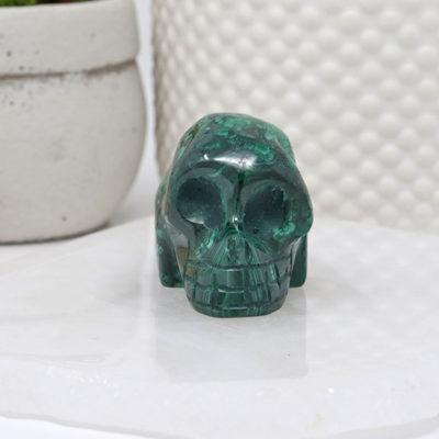 SKMAL-G2 - Malachite Skull