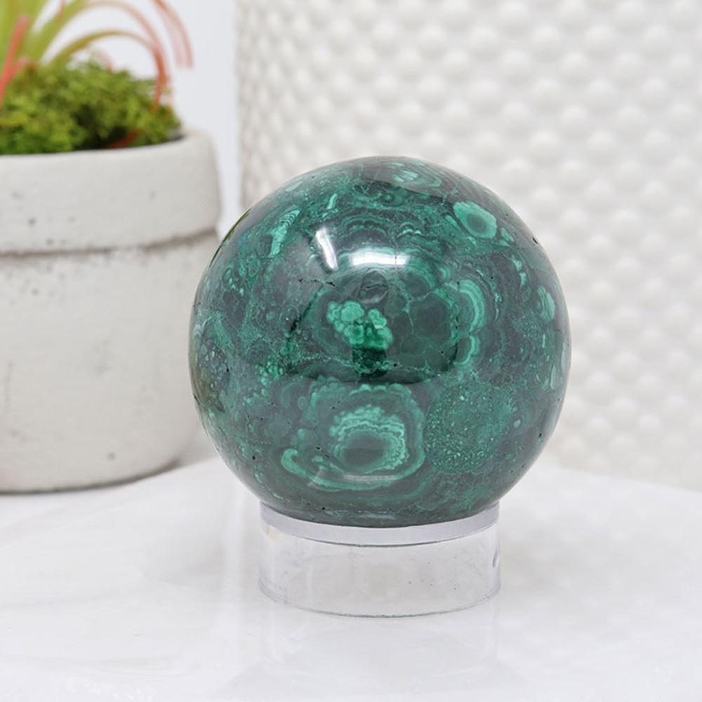 SPRMAL-G2 - Malachite Sphere