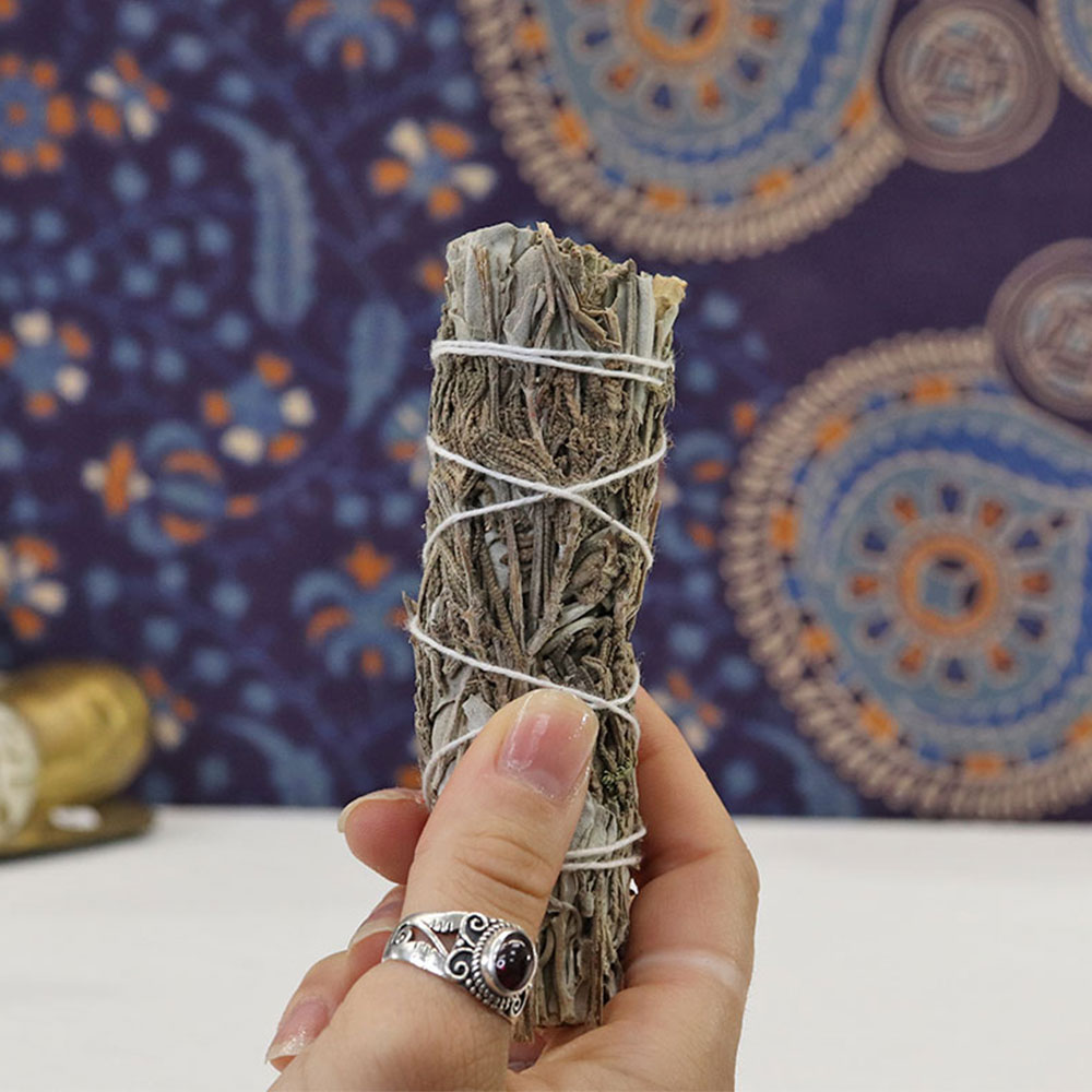 WSW3 - White Sage & Lavender Wand